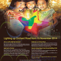 Read more about Orchard Road Light Up Ceremony 15 Nov 2014