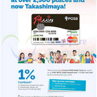 Read more about POSB PAssion Debit Card 1% Cashback @ Takashimaya 15 Nov 2014 - 19 Feb 2015