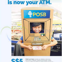 Read more about POSB Cash-Point Withdraw Cash & Get Free $5 Cash Credit Promo 7 Nov - 31 Dec 2014