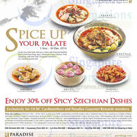 Read more about Paradise Dynasty 30% off Spicy Szechuan Dishes For OCBC Cardmembers 3 Nov - 30 Dec 2014