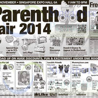 Read more about Parenthood Fair 2014 @ Singapore Expo 21 - 23 Nov 2014