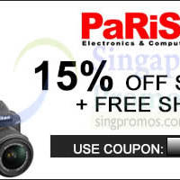 Read more about Parisilk 15% OFF (NO Min Spend) 48hr Coupon Code 12 - 13 Nov 2014