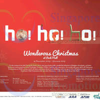 Read more about Park Mall Wonderous Christmas Activities & Promotions 15 Nov 2014 - 1 Jan 2015