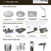 Read more about Philips Sale @ Star Living 7 - 9 Nov 2014