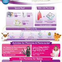 Read more about Philips Avent 30th Anniversary Celebration Offers @ VivoCity 12 - 16 Nov 2014