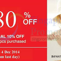 Read more about Poney Up To 80% OFF Promotion @ Isetan Scotts 29 Nov - 4 Dec 2014