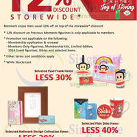 Read more about Precious Thots 12% Storewide Promo 1 - 5 Nov 2014