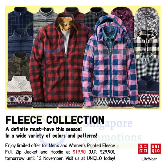 Printed Fleece Collection