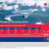 Read more about Qatar Airways Promo Air fares For UOB Cardmembers 4 - 14 Nov 2014
