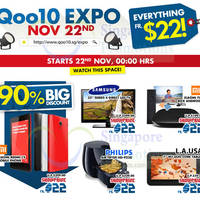 Read more about Qoo10 1-Day Online Electronics Show Promo 22 Nov 2014