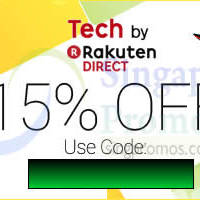 Read more about Rakuten 15% OFF Tech Products (NO Min Spend) 1-Day Coupon Code 20 Nov 2014