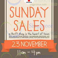Read more about Red Cross Shop Sunday Sale @ Red Cross House 23 Nov 2014