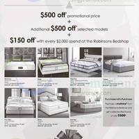 Robinsons Bedshop Offers 21 Nov 2014