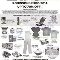 Read more about Robinsons Expo @ Singapore Expo 19 - 30 Nov 2014
