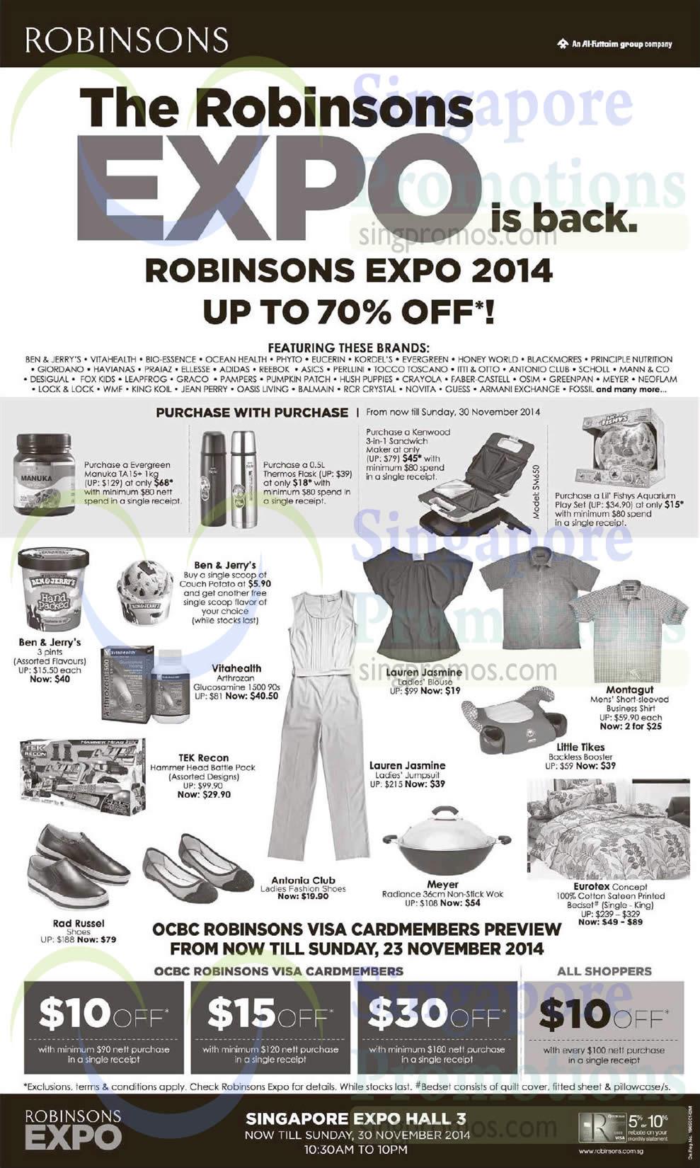 Robinsons Expo 19 Nov 2014