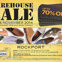 Read more about Rockport Warehouse Sale 15 - 16 Nov 2014