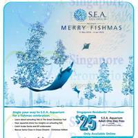 Read more about RWS S.E.A. Aquarium Or Adventure Cove Waterpark $25 Tix Promo 20 Nov 2014 - 31 Mar 2015