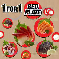 Read more about Sakae Sushi 1 For 1 Red Plate Coupon Promo 10 - 11 Nov 2014