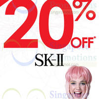 Read more about SK-II 20% Off @ Sasa Stores 20 - 23 Nov 2014