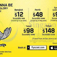 Read more about Scoot From $12 2hr Promo Air Fares 4 Nov 2014