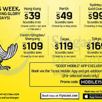Read more about Scoot From $39 2hr Promo Air Fares 11 Nov 2014