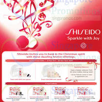 Read more about Shiseido Christmas Gifts & Coffrets Offer 21 - 30 Nov 2014