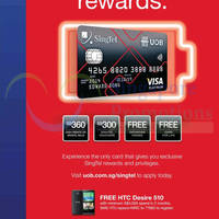 Read more about UOB New SingTel-UOB Platinum Card 1 Nov 2014