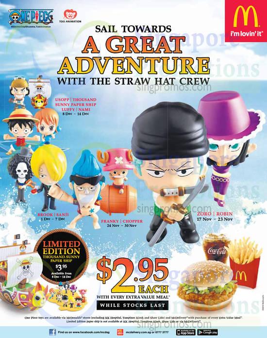 Straw Hat Crew Usopp, Luffy, Nami, Brook, Sanji, Franky, Chopper, Zoro, Robin