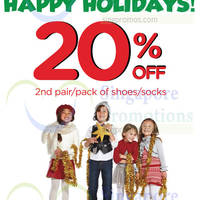 Stride Rite 20% OFF 2nd Pair Promo 22 Nov 2014 - 4 Jan 2015