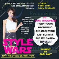 Read more about Chickisslove.com Style Wars 1-Day Fashion Warehouse Sale 23 Nov 2014