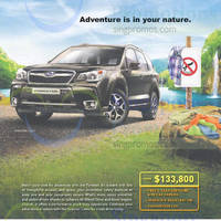 Read more about Subaru Forester Offer 22 Nov 2014