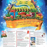 Suntec City Tree of Gifts Christmas Promotions & Activities 22 Nov - 25 Dec 2014