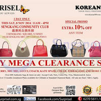 Read more about Surprisel Branded Handbags Sale @ Sengkang Community Club 8 Nov 2014