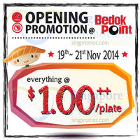 Read more about Sushi Express Opening Promotion @ Bedok Point 19 - 21 Nov 2014