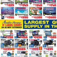 Read more about Audio House Electronics, TV, Notebooks & Appliances Offers @ Liang Court 28 Nov - 7 Dec 2014