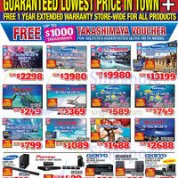 Read more about Audio House Electronics, TV, Notebooks & Appliances Offers @ Liang Court 14 - 16 Nov 2014