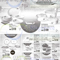 Read more about Takashimaya Corelle, Corningware & Pyrex Kitchenware Offers 7 - 26 Nov 2014