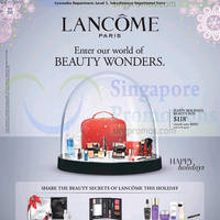 Read more about Lancome Paris Promotion @ Takashimaya 20 - 26 Nov 2014