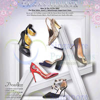 Takashimaya Shoe Salon 21 Nov - 25 Dec 2014