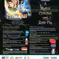 Tampines Mall Magical Christmas with Peter Pan Promotions & Activities 14 Nov - 31 Dec 2014