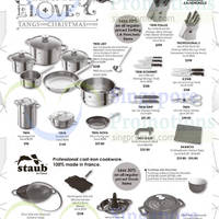 Read more about Tangs Zwilling J.A Henckels & Staub Kitchenware Offers 14 Nov 2014