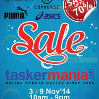 Read more about Taskermania Sale @ Funan DigitaLife Mall 3 - 9 Nov 2014