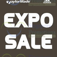 Taylormade & Adidas Sale @ Singapore Expo 21 - 23 Nov 2014