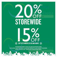 Read more about The Body Shop 20% OFF Storewide Promo 19 - 30 Nov 2014