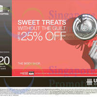 Read more about The Body Shop Spend $100 & Get $20 Voucher For UOB Cardmembers 7 - 30 Nov 2014
