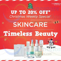 Read more about The Face Shop Up To 20% Off Skincare Storewide 6 - 9 Nov 2014