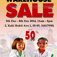 The Learning Store Warehouse SALE 5 - 8 Dec 2014