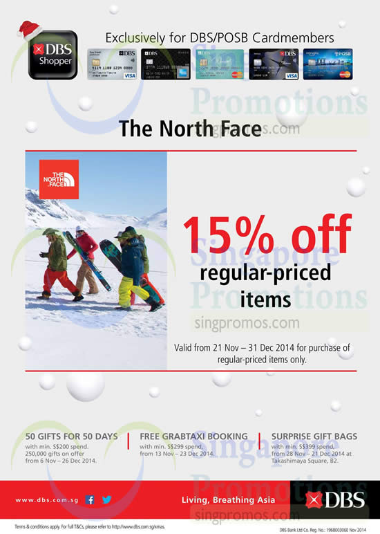 The North Face 22 Nov 2014