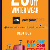 Read more about The Planet Traveller 20% Off Winter Wear 7 - 9 Nov 2014