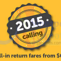 TigerAir From $69 (all-in) Promo Air Fares 24 - 30 Nov 2014